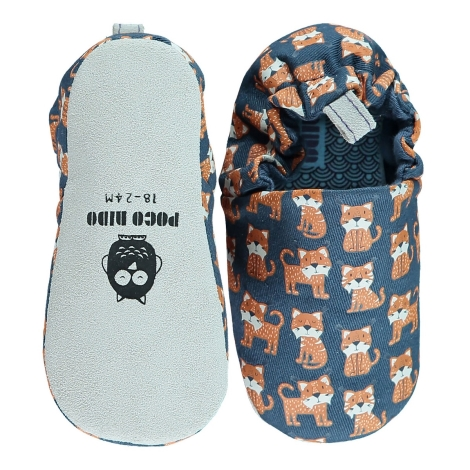 POCO NIDO Capáčky Mini Shoes Toddler Lynx Navy vel. 21