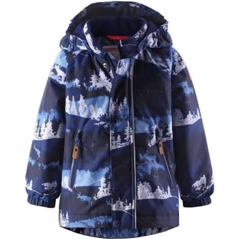 REIMA Dětská zimní bunda s membránou Ruis Jeans Blue vel. 92
