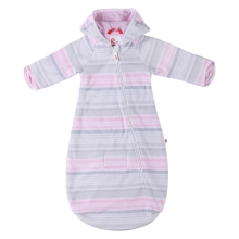 REIMA Fleece Sleeping Bag Eina Pale Pink