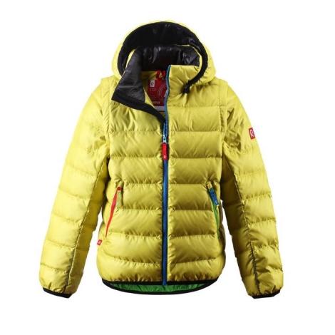 REIMA Jacket Shaula Yellow Lime vel.110