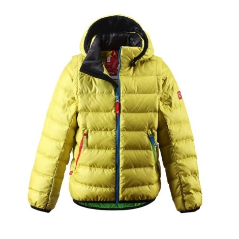 REIMA Jacket Shaula Yellow Lime vel.116