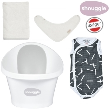 SHNUGGLE + LODGER Výhodný set Grey/Sprinkle Carbon