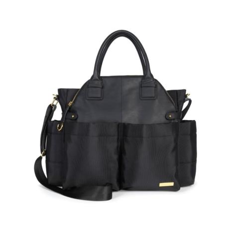 SKIPHOP Přebalovací taška Chelsea Černá