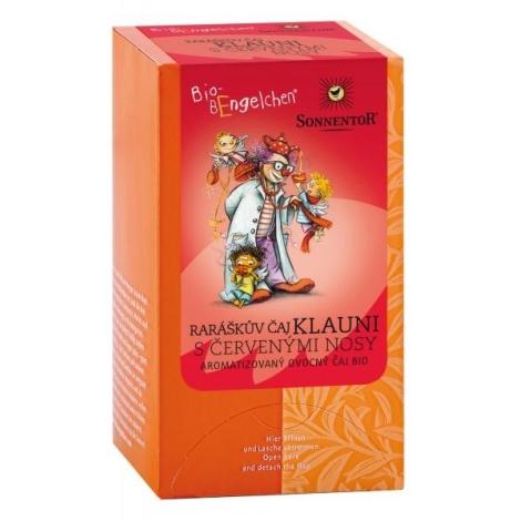 SONNENTOR Raráškův čaj Klauni s červenými nosy bio porcovaný 40 g