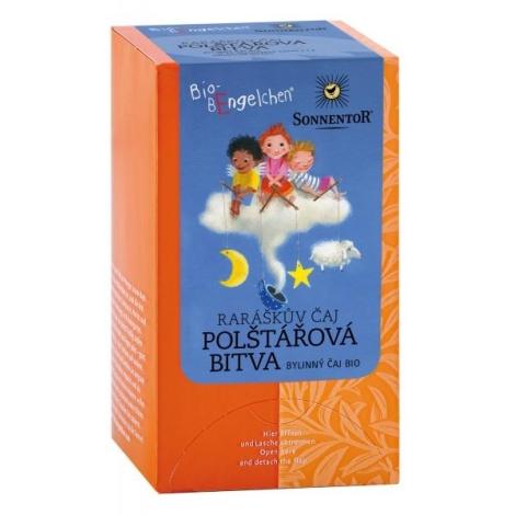 SONNENTOR Raráškův čaj Polštářová bitva bio porcovaný 20 g