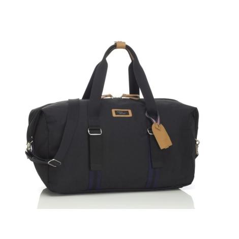 STORKSAK TRAVEL Cestovní taška Duffe Black