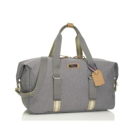 STORKSAK TRAVEL Cestovní taška Duffe Grey