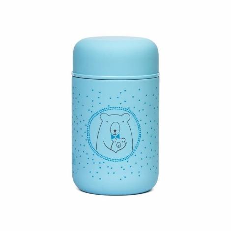 SUAVINEX Meaningful Life Termoska na příkrmy Méďa modrý