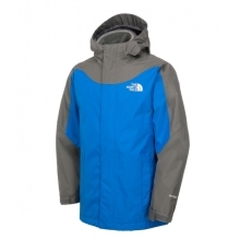 THE NORTH FACE Boys Evolution Triclimate Jacket Nautical Blue