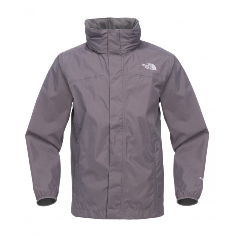 THE NORTH FACE Boys Resolve Jacket Graphite Grey,Spring Green vel.S