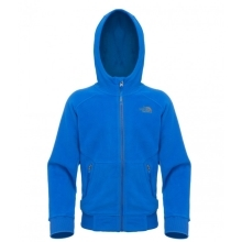 THE NORTH FACE Boys Super Glacier Full Zip Fleece Nautical Blue