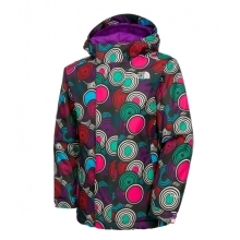 THE NORTH FACE Girls Insulated Open Gate Jacket Pixie Print