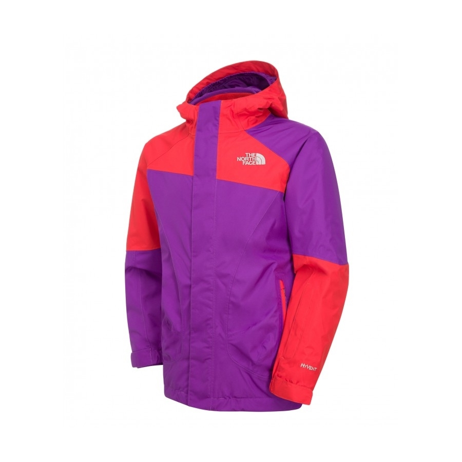 d027aa8b3302 ... promo code for the north face girls ski storm triclimate jacket pixie  purple 8f457 acbe5