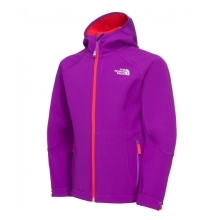 THE NORTH FACE Girls Softshell Jacket Pixie Purple