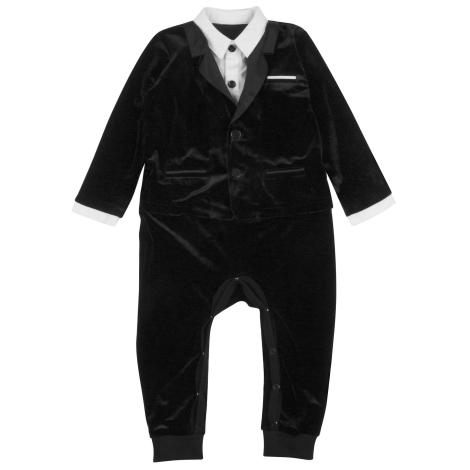 THE TINY UNIVERSE Overal The Ultimate Tuxedo All Black