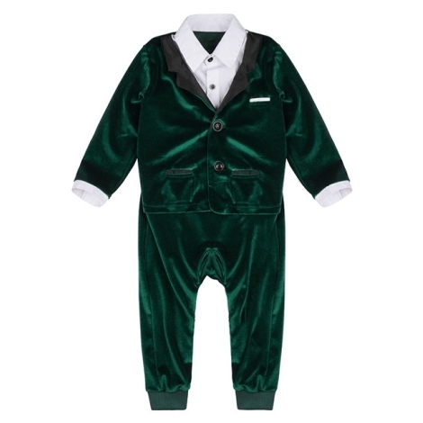 THE TINY UNIVERSE Overal The Ultimate Tuxedo Deep Green