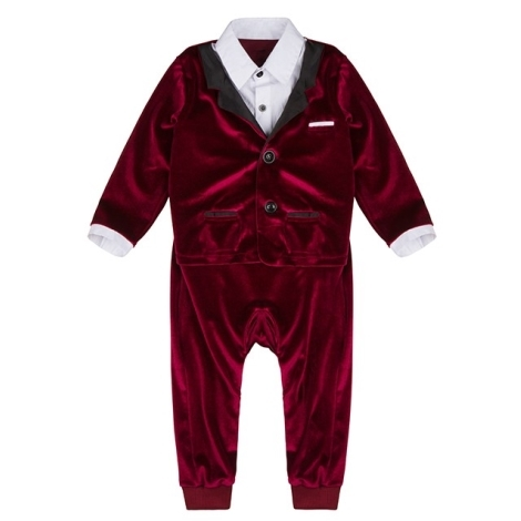 THE TINY UNIVERSE Overal The Ultimate Tuxedo Real Red