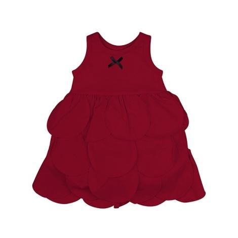 THE TINY UNIVERSE Šaty The Tiny Circles Real Red