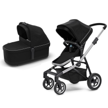 THULE Sleek Kompletní kočárek Midnight Black
