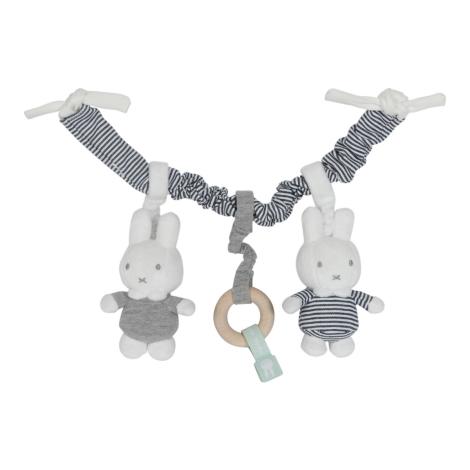 TIAMO Miffy ABC Řetěz zajíčci pruhy