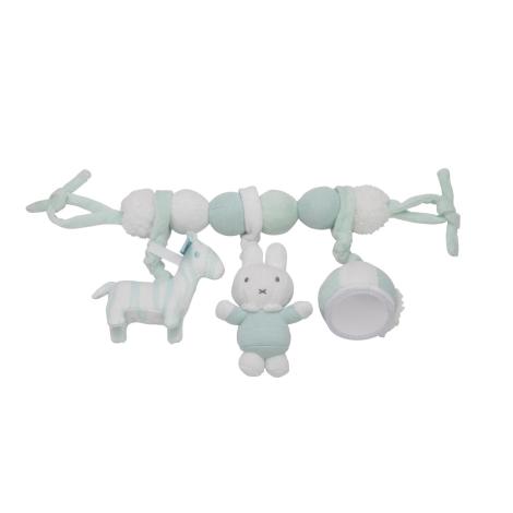 TIAMO Miffy Mint Plyšový řetěz zajíčci