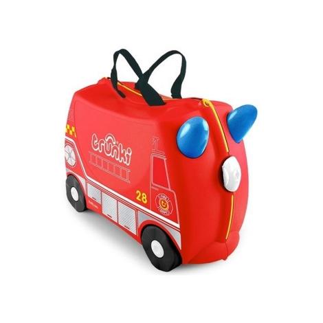 TRUNKI kufřík a odrážedlo hasičský vůz Frankie