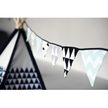 VIGVAM DESIGN Girlanda Modern Triangle