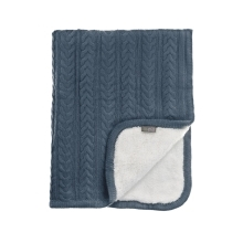 VINTER & BLOOM Deka Cuddly Storm Blue