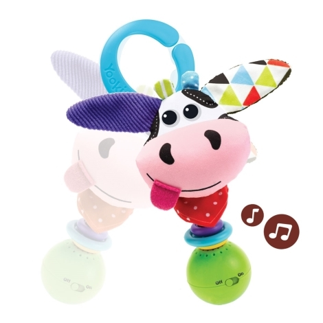 YOOKIDOO Hudební zvířátko kravička