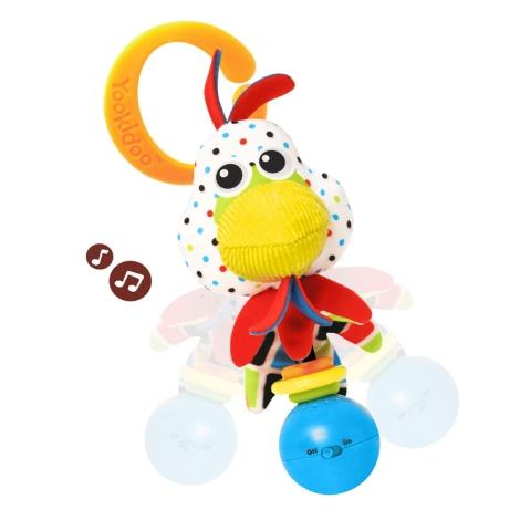 YOOKIDOO Hudební zvířátko kuřátko